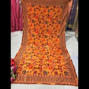 Indian Pakistani punjabi velvet printed dupattta
